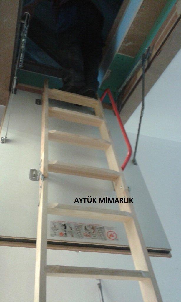 fakro yanmaz çatı merdiveni aparatı