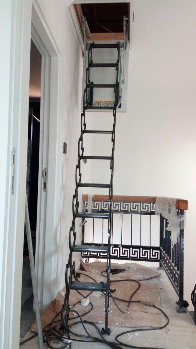 makaslı çatı merdivenleri fakro