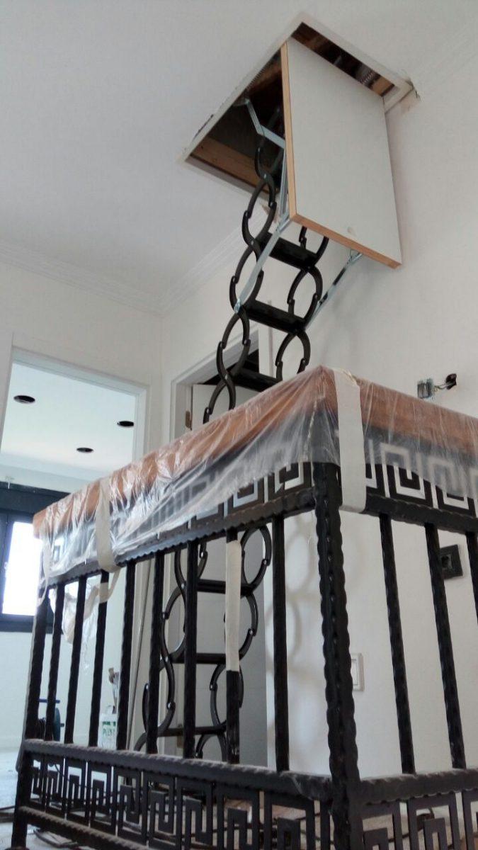 makaslı çatı merdivenleri adana