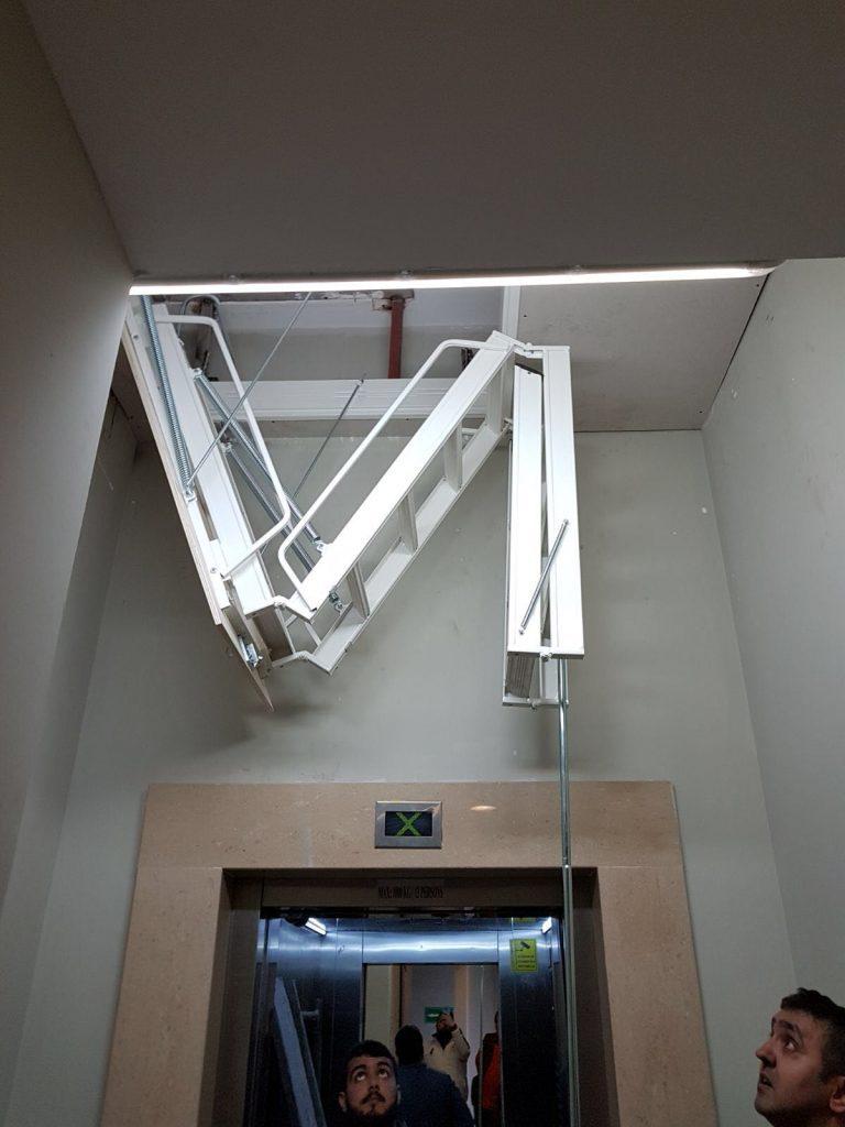 tavan arası alüminyum çatı merdivenleri