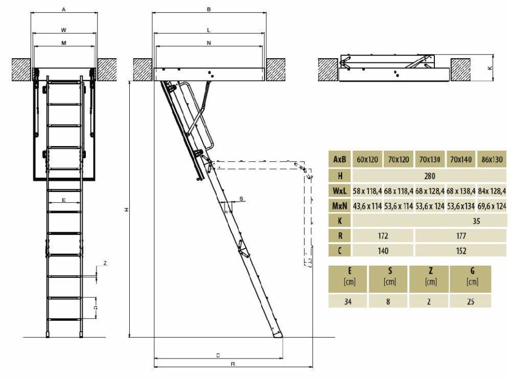 fakro teras yanmaz çatı merdivenleri