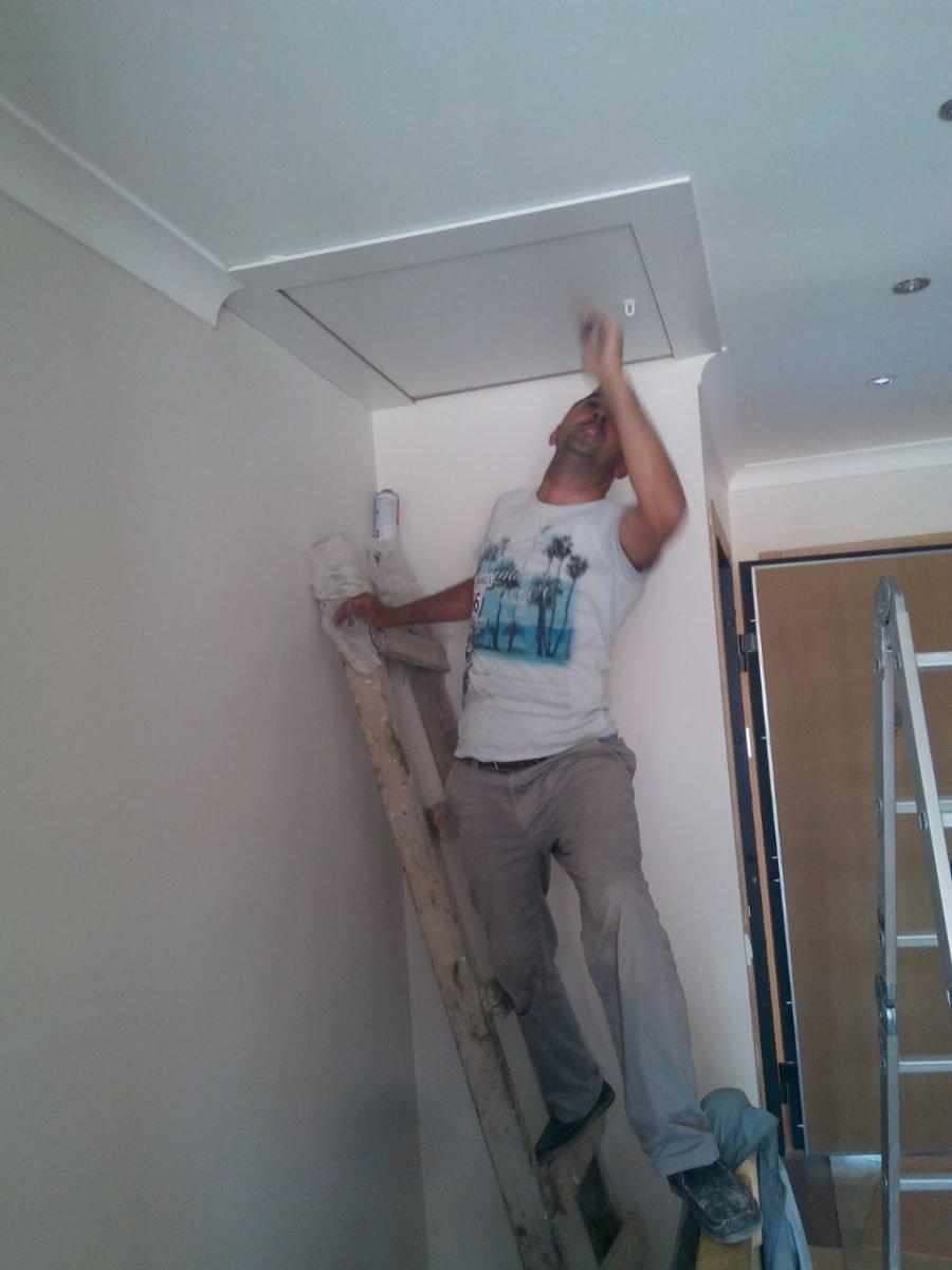 makaslı çatı merdiveni inşaat firması
