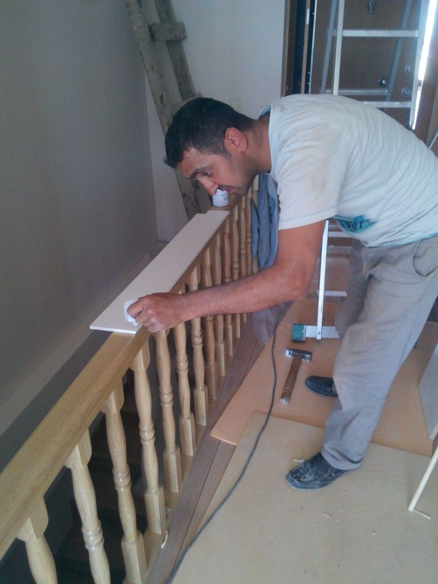 çelik basamaklı makaslı çatı merdivenleri