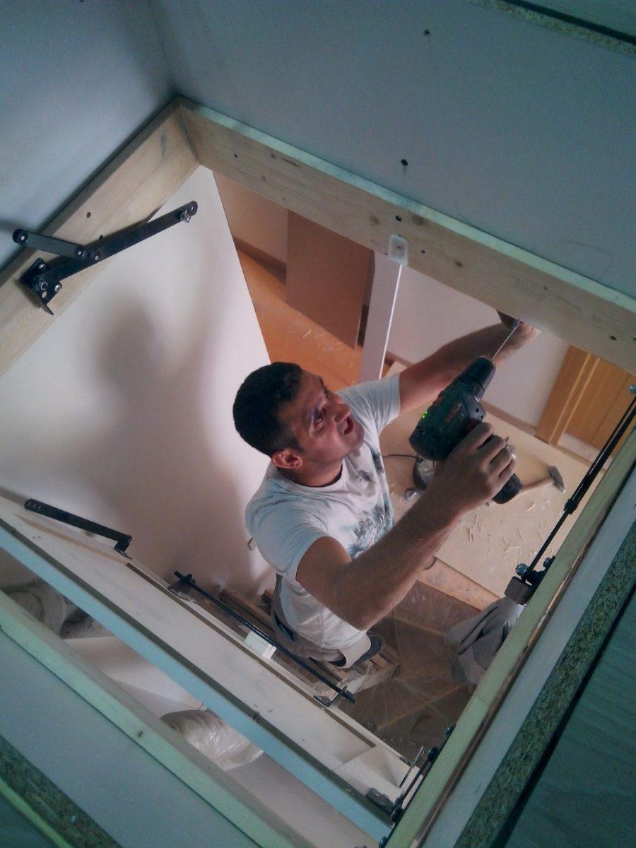 makaslı çatı merdiveni montaj fiyatı