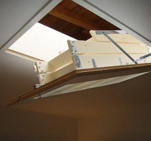 kapalı çatı merdivenleri