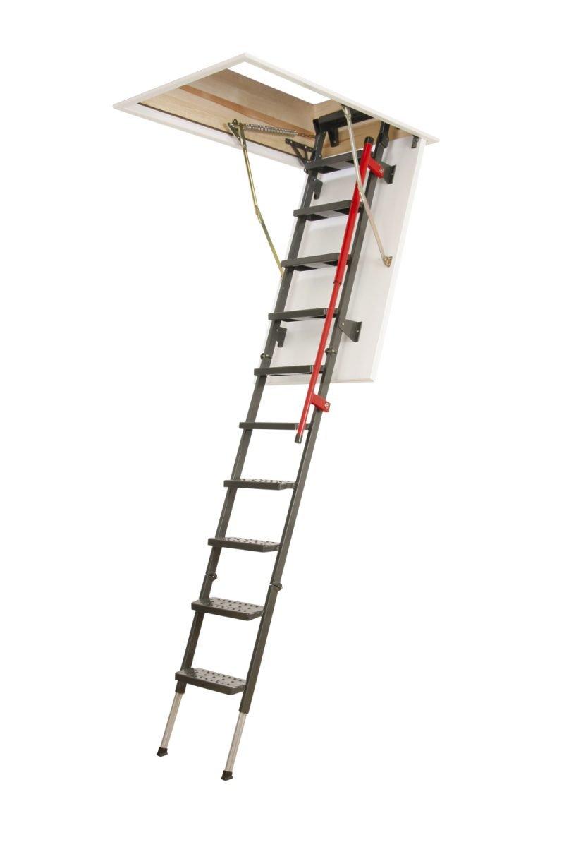 dekoratif fakro lüx metal çatı merdivenleri