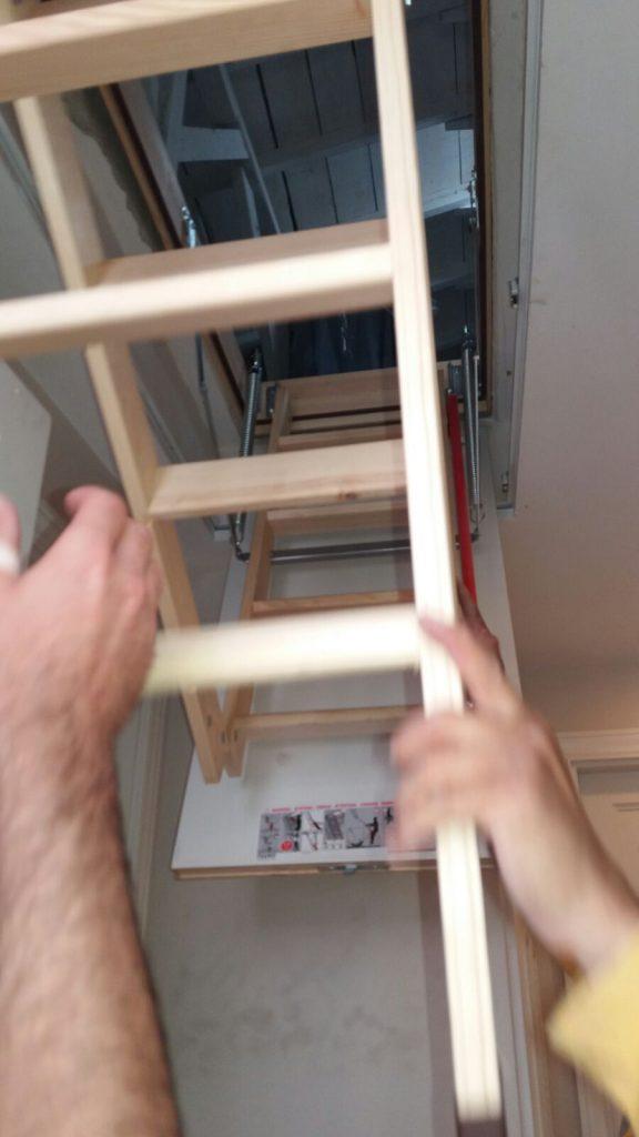 teras çatı çıkış merdiveni kurulum bilgisi