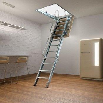 alüminyum katlanır çatı merdiveni