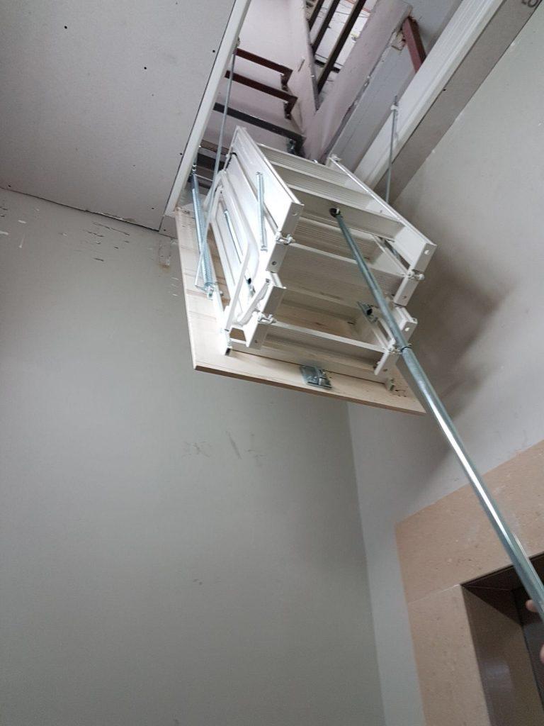 çelik alüminyum çatı merdivenleri