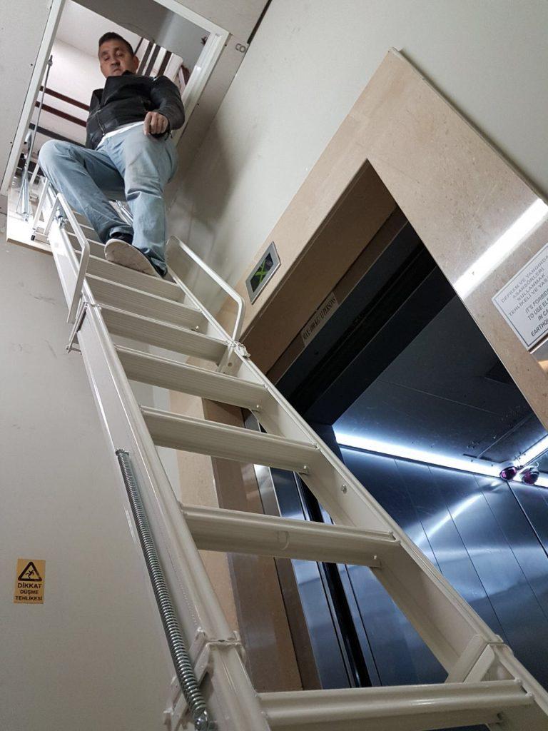 alüminyum çatı merdivenleri istanbul
