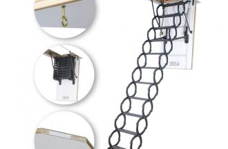 en uygun makaslı çatı merdivenleri