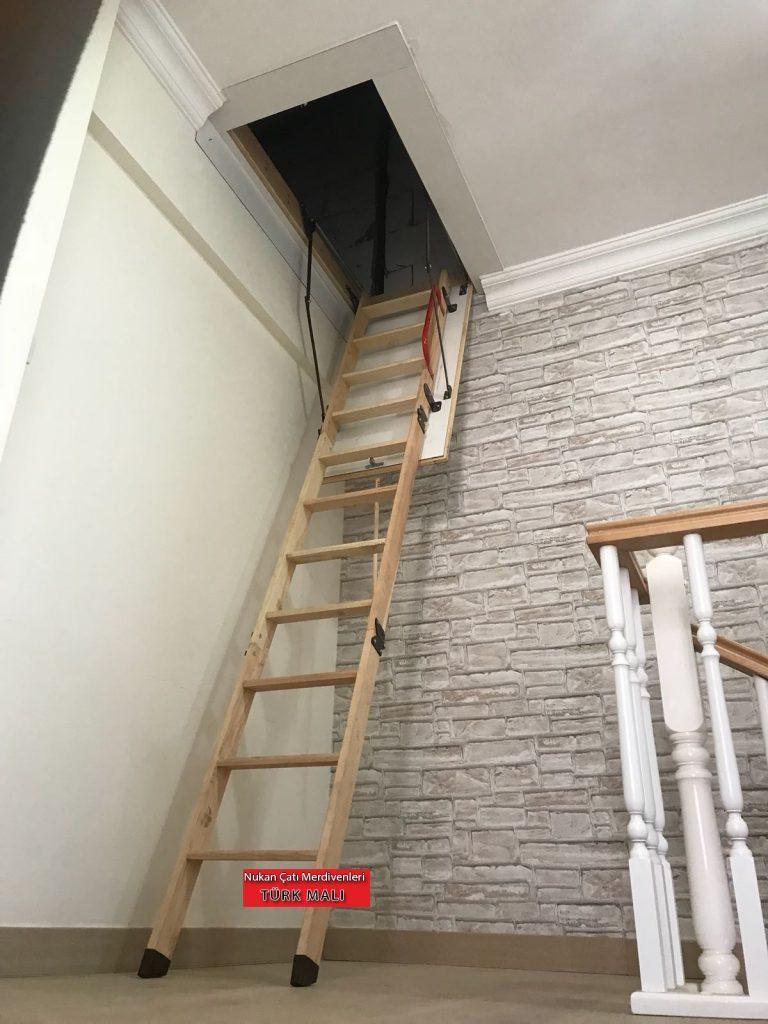 tavan arası nukan çatı merdivenleri