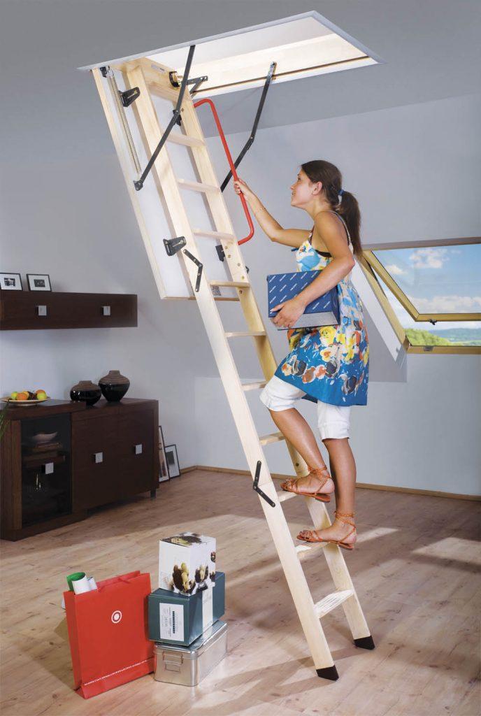 portatif çatı merdiveni modeli