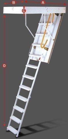 minka çatı merdiveni modeli