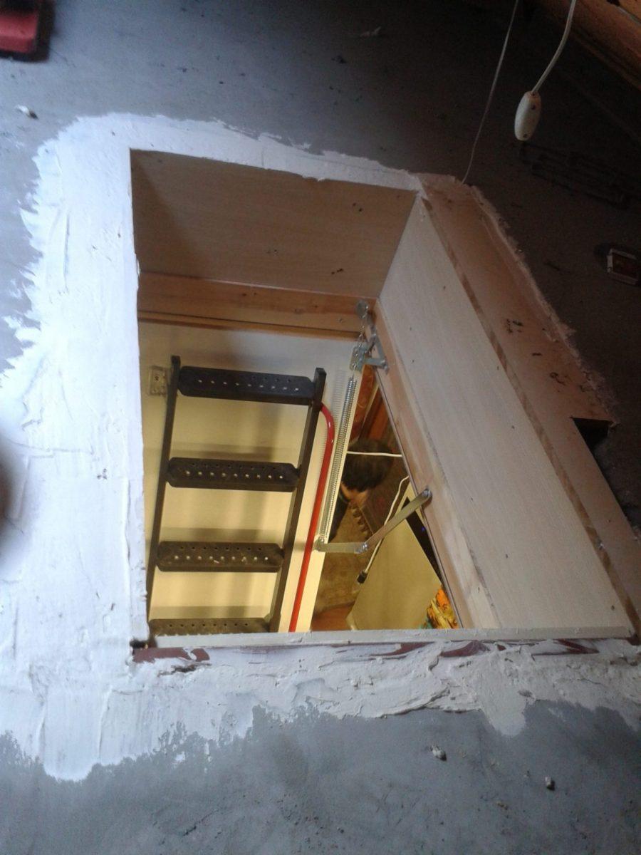 çatı arası fakro metal çatı merdivenleri