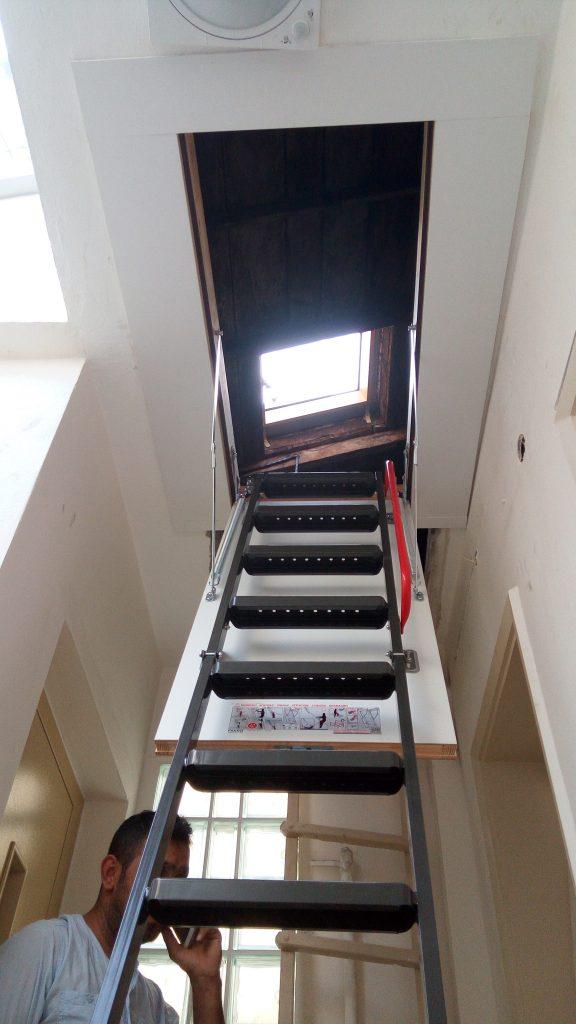 fakro metal çatı merdivenleri antalya
