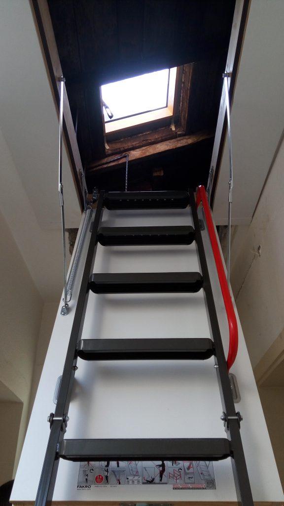 fakro metal çatı merdivenleri çanakkale