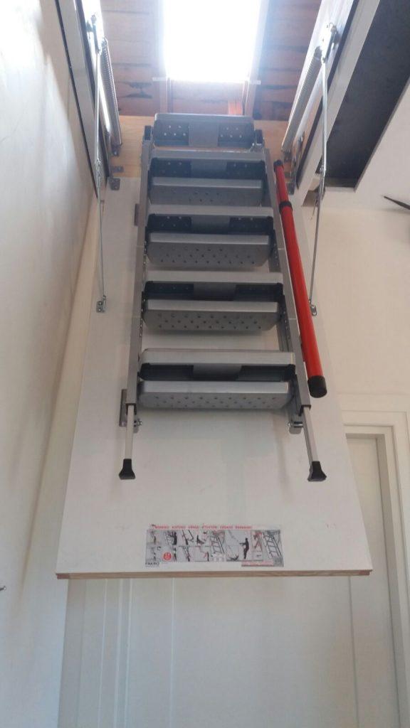 fakro lüx metal çatı merdivenleri katlanır