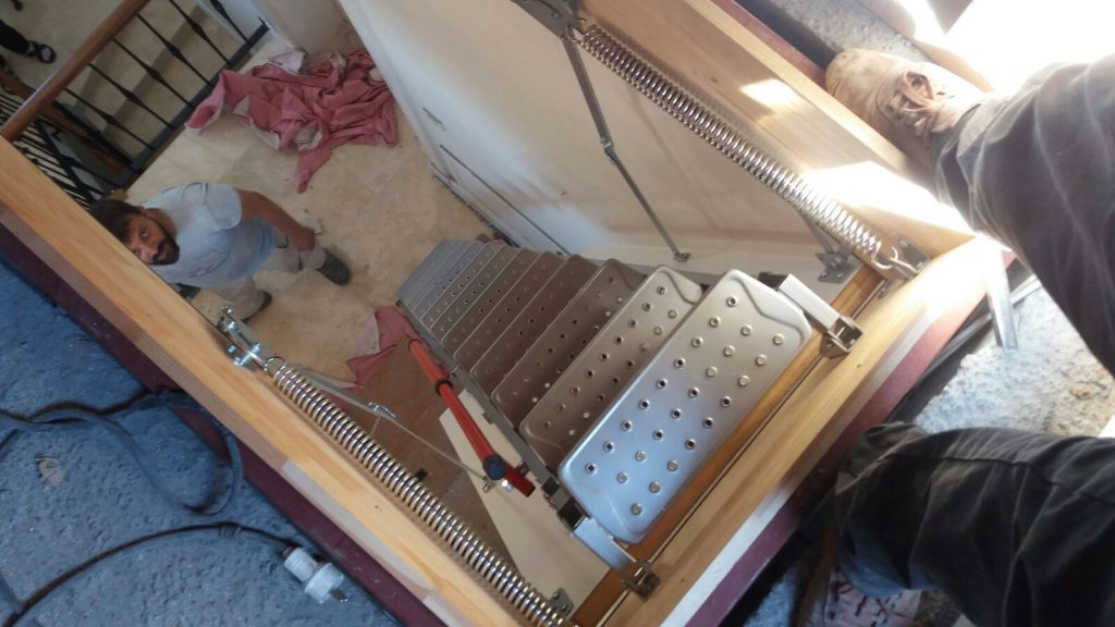fakro lüx metal çatı merdiveni iş güvenlikleri