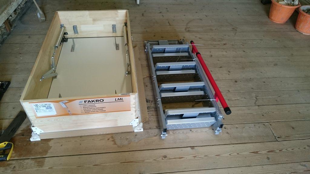 ucuz fakro lüx metal çatı merdiven fiyatı