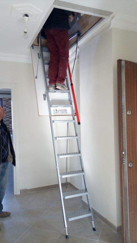 fakro lüx metal çatı merdiveni imalatçısı