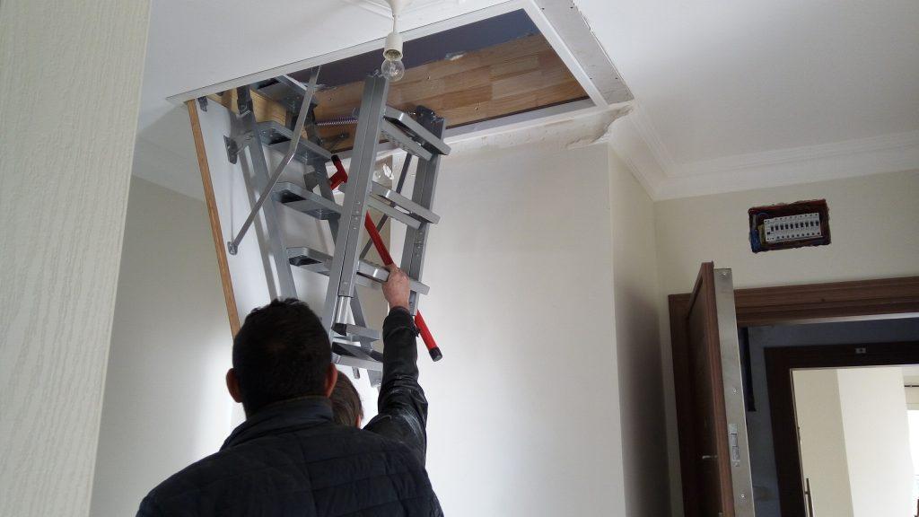 fakro lüx metal çatı merdiveni sistemi