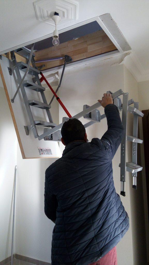 fakro lüx metal çatı merdivenleri mersin