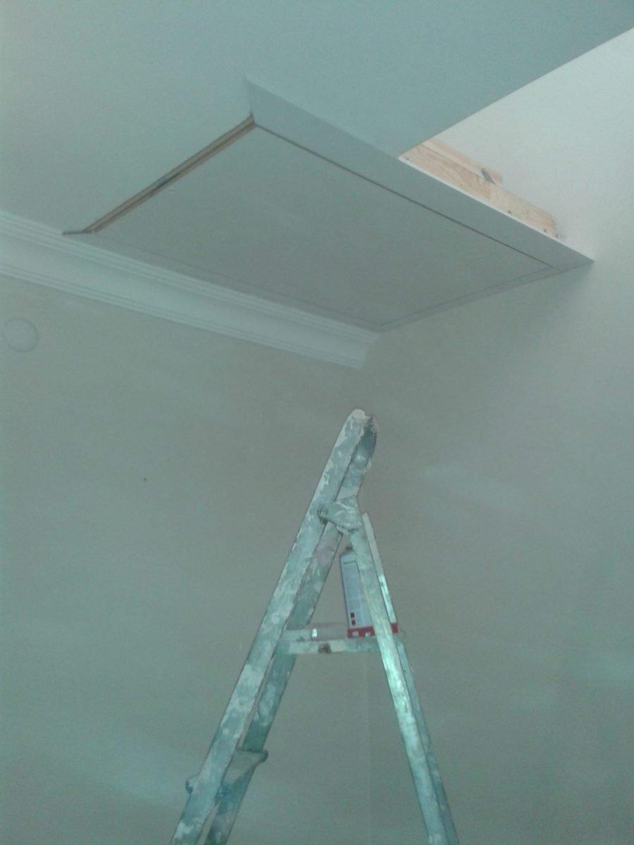 ofis için fakro ahşap çatı merdiven