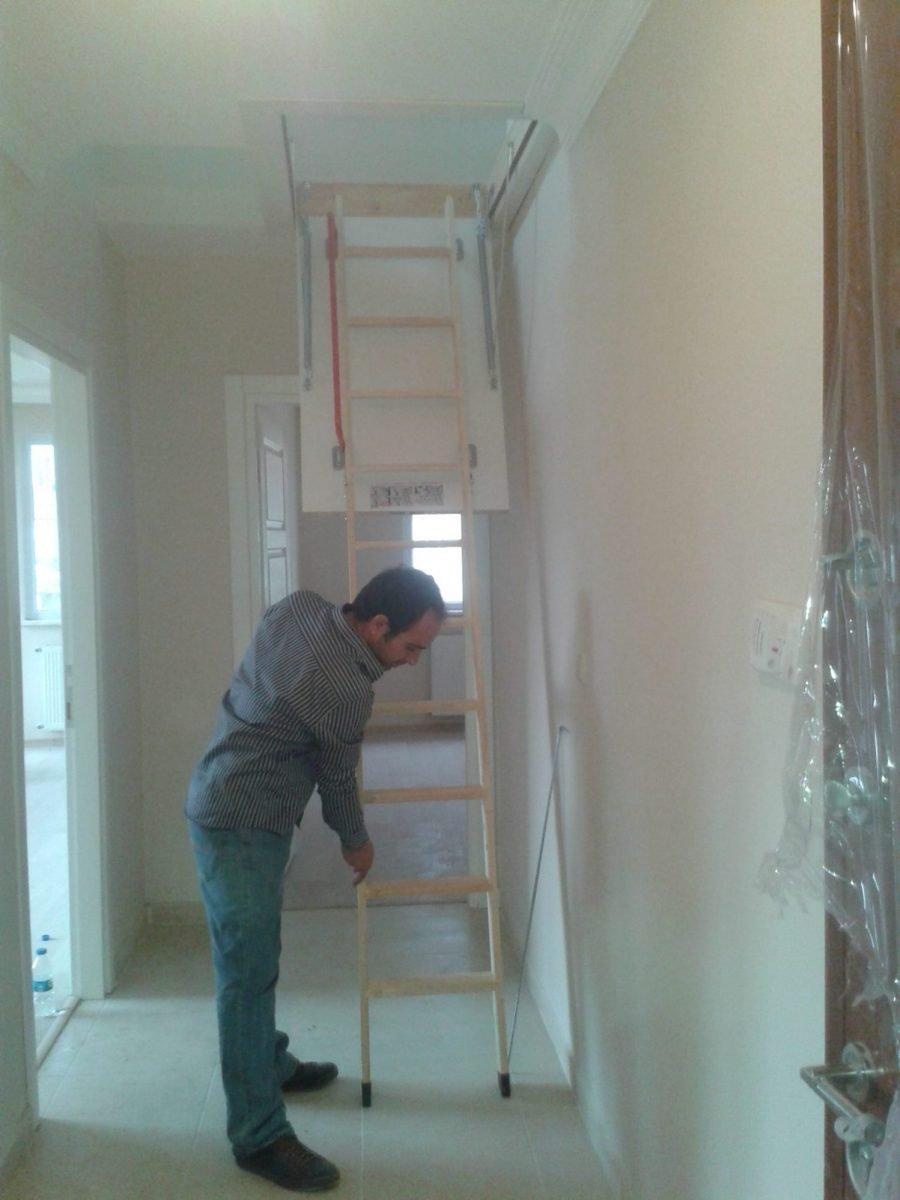 en ugun hazır fakro ahşap çatı merdivenleri