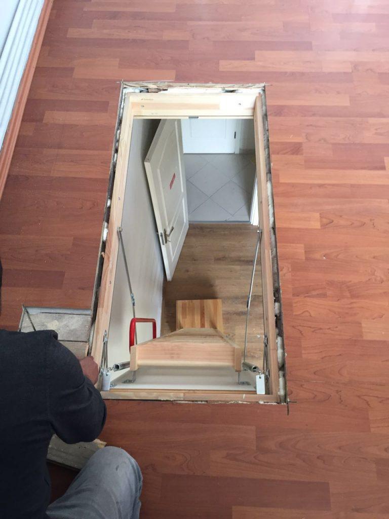 fakro ahşap çatı merdivenleri menteşesi