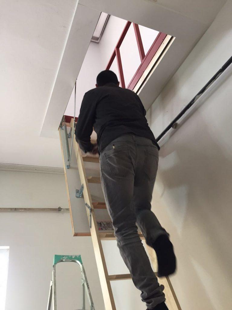 en uygun ahşap çatı merdivenleri fakro