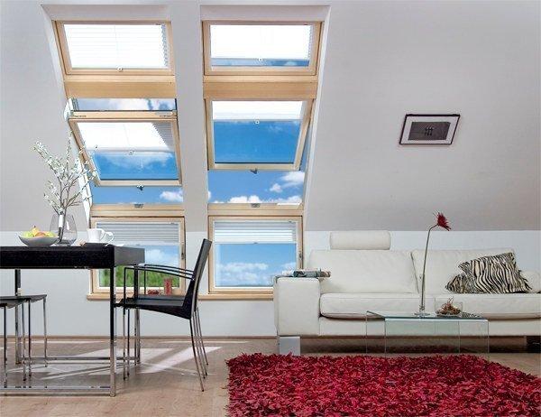 L Kombinasyon Fakro Çatı Pencereleri Modelleri