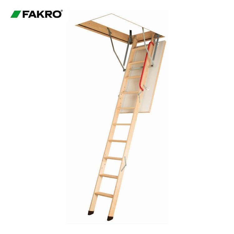 kullanışlı fakro ahşap çatı merdiven montajı