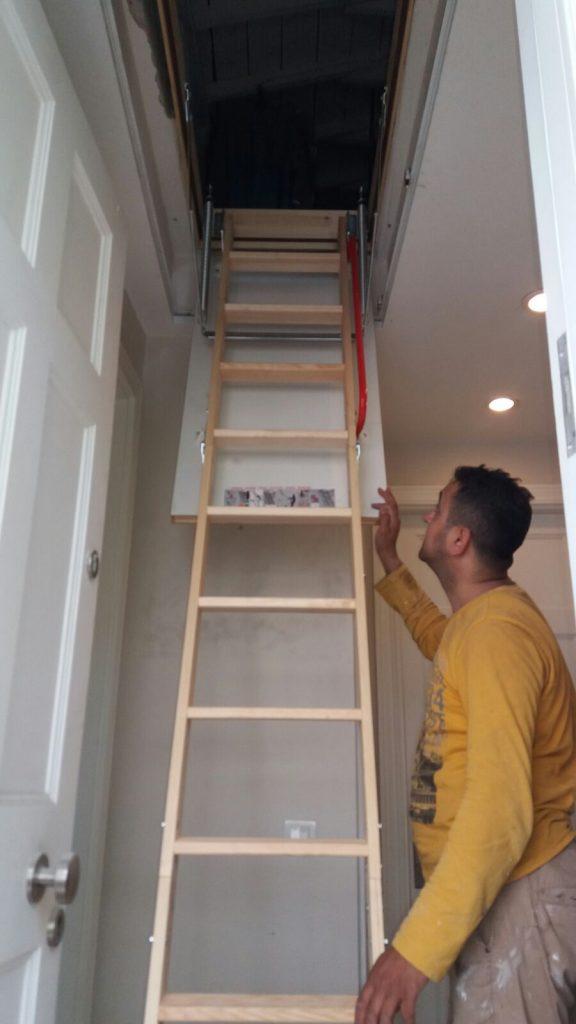 fakro ahşap çatı merdiveni montaj ekibleri