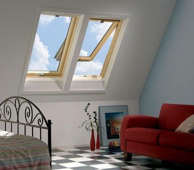 fakro standart teras çatı penceresi