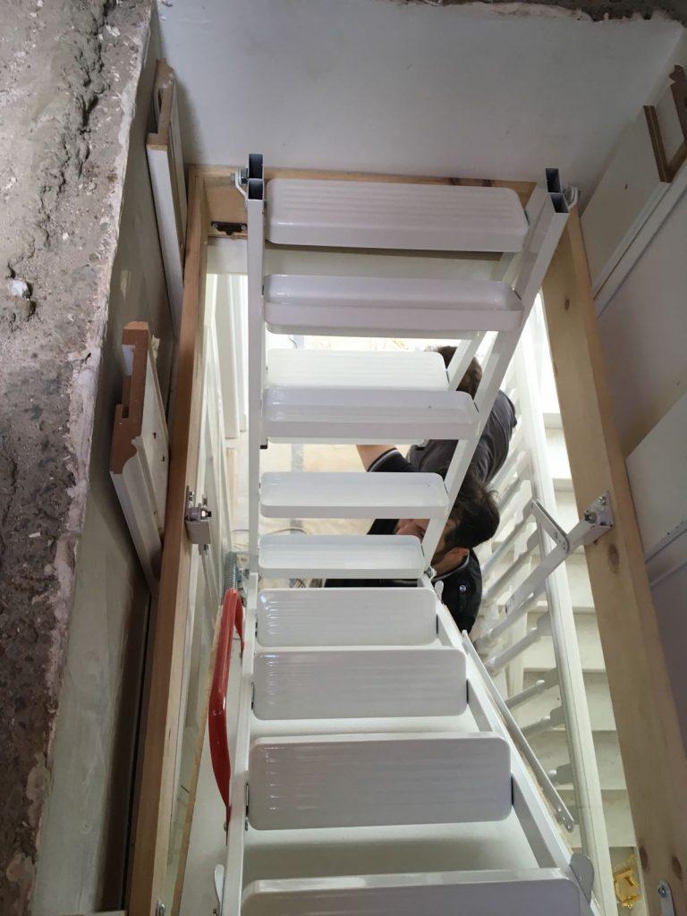 pratik nukan çatı merdivenleri